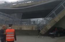 Crolla un altro viadotto. Per miracolo, salvi due carabinieri