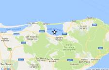 Forte terremoto vicino Foggia