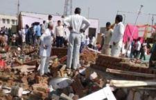 India: crolla muro durante matrimonio. 22 morti