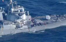 Giappone: scontro tra nave militare Usa e porta container. 7 militari morti