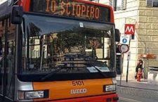 Roma: caos per sciopero e incendio sul Gra