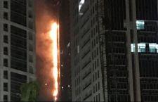 Dubai: grattacielo in fiamme per la seconda volta in due anni