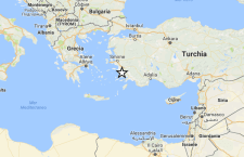 Turchia: forte terremoto sulla costa. 5.0. Sciame sismico nel mar d'Abruzzo
