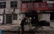 Cina: incendio a Pechino. 19 morti in una pensione