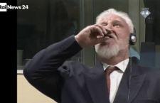 Tribunale dell' Aja: si uccide in diretta generale croato condannato per crimini di guerra