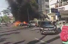 Indonesia: attacchi a chiese. 8 morti. Parigi: assalto con coltello