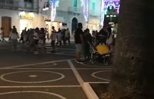 La gente in strada