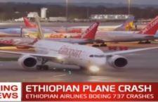 Etiopia: otto gli italiani morti sull'aereo caduto con 157 a bordo