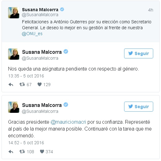 malcorra-tweets