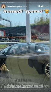 Tommaso Trussardi auto