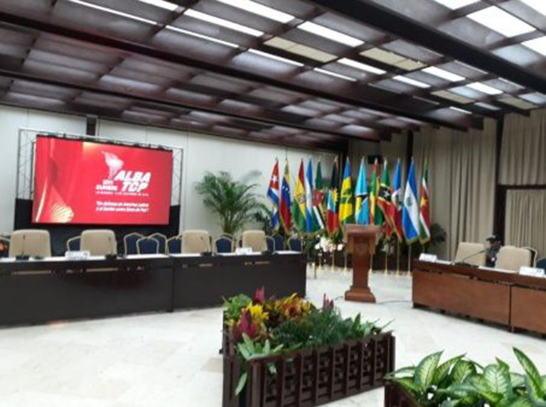 Países del ALBA-TCP repudian orden de aprehensión contra Evo Morales