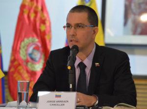 Arreaza: Venezuela refuerza asociación estratégica con China