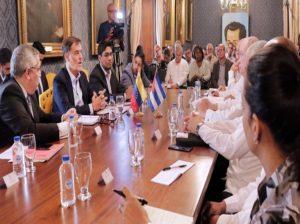 Gobierno realizó reunión sectorial sobre Turismo y Comercio Exterior