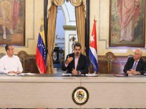 Jefe de Estado pide apoyo a Cuba para recuperar Petrocaribe