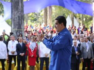 Maduro clausura el Encuentro Mundial contra el Imperialismo