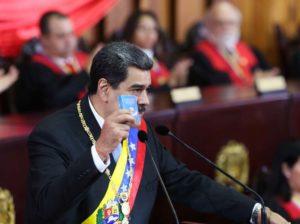 Maduro solicitó a la ANC crear comisión para reformar Poder Judicial