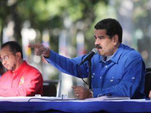 Maduro espera que EEUU investigue fondos para Guaidó