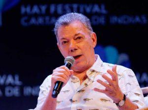 Expresidente Santos reconoce necesidad de diálogo entre Colombia y Venezuela
