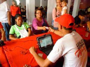 PSUV habilitó 29 puntos de carnetización en Barinas