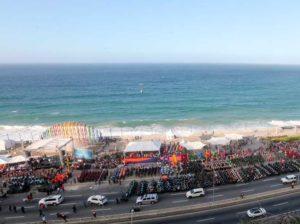 Temporadistas disponen de 498 playas aptas en estos carnavales