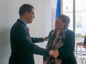 Venezuela ratifica voluntad de cooperar con la ONU en derechos humanos
