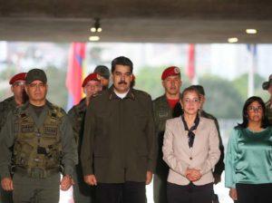 Maduro sostiene videoconferencia con el Estado Mayor Superior