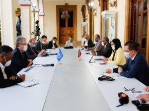 Comisión Presidencial se reunió con el Sistema de Naciones Unidas