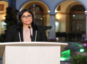 Delcy Rodríguez: se registraron 5 nuevos casos  importados de Colombia