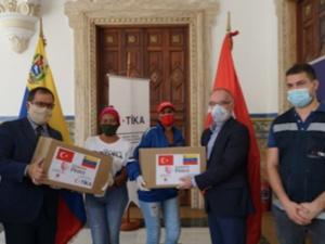 Turquía dona 6T de comida a familias venezolanas para celebrar Ramadán