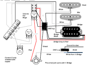 Yamaha electric guitar wiring schematic  Wiring images