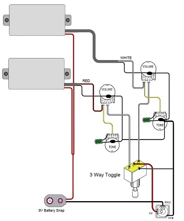 Hsh Guitar Wiring Diagram 5-Way Guitar Switch Diagram