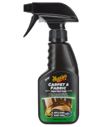 Carpet & Fabric Protector is a quick & easy spray application to protect your carpets & fabrics. Our advanced chemistry repel liquids and block stains, creating a barrier between your interior fabrics and any unwanted spillages allowing them to be easily and quickly wiped off. For best results, clean the surface first with Meguiar's G9416EU Carpet & Interior Cleaner