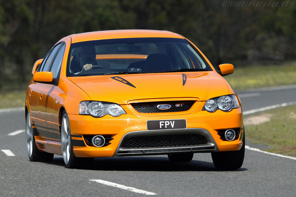 2006 2008 Ford BF Falcon MkII FPV GT Images