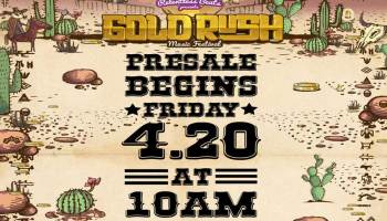 Goldrush Festival announces Phase 1 Lineup for 3rd Annual