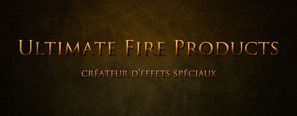 ULTIMATE FIRE PRODUCTS