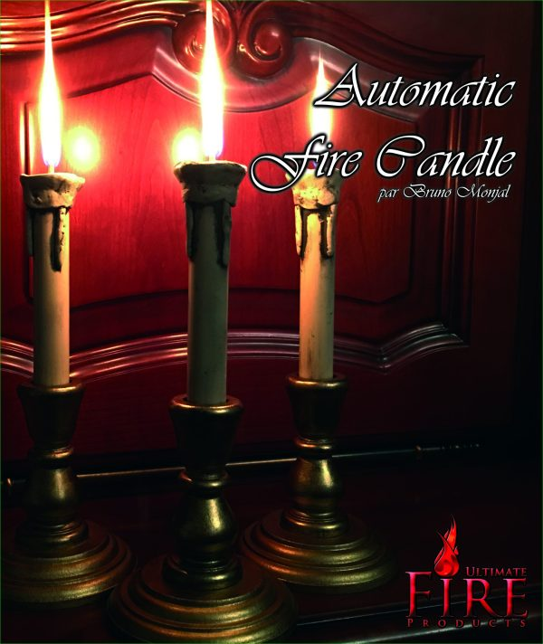 Automatic fire candle