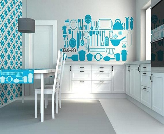 18 Creative Kitchen Wallpaper Ideas   Ultimate Home Ideas wallpaper for kitchen