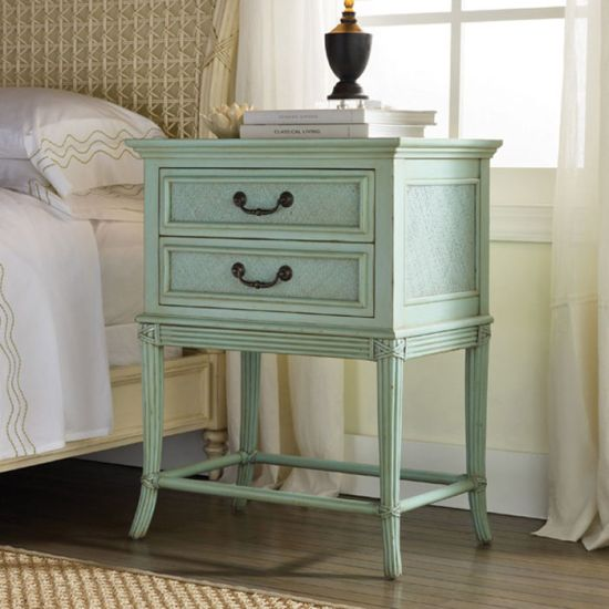 Unique green chester drawer DIY nightstand idea - NO.1# THE MOST BEAUTIFUL DIY BEDROOM NIGHTSTAND IDEAS