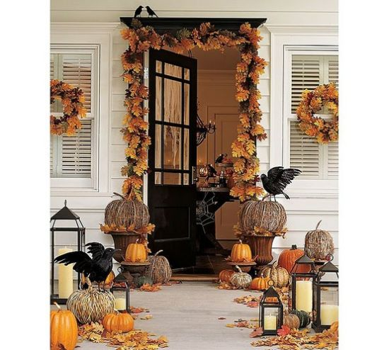 Front Porch Decorating Ideas For Fall   Ultimate Home Ideas Decorating Ideas For Fall