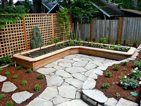 Above Ground Vegetable Garden