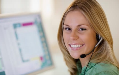 Customer service representatives ready to help