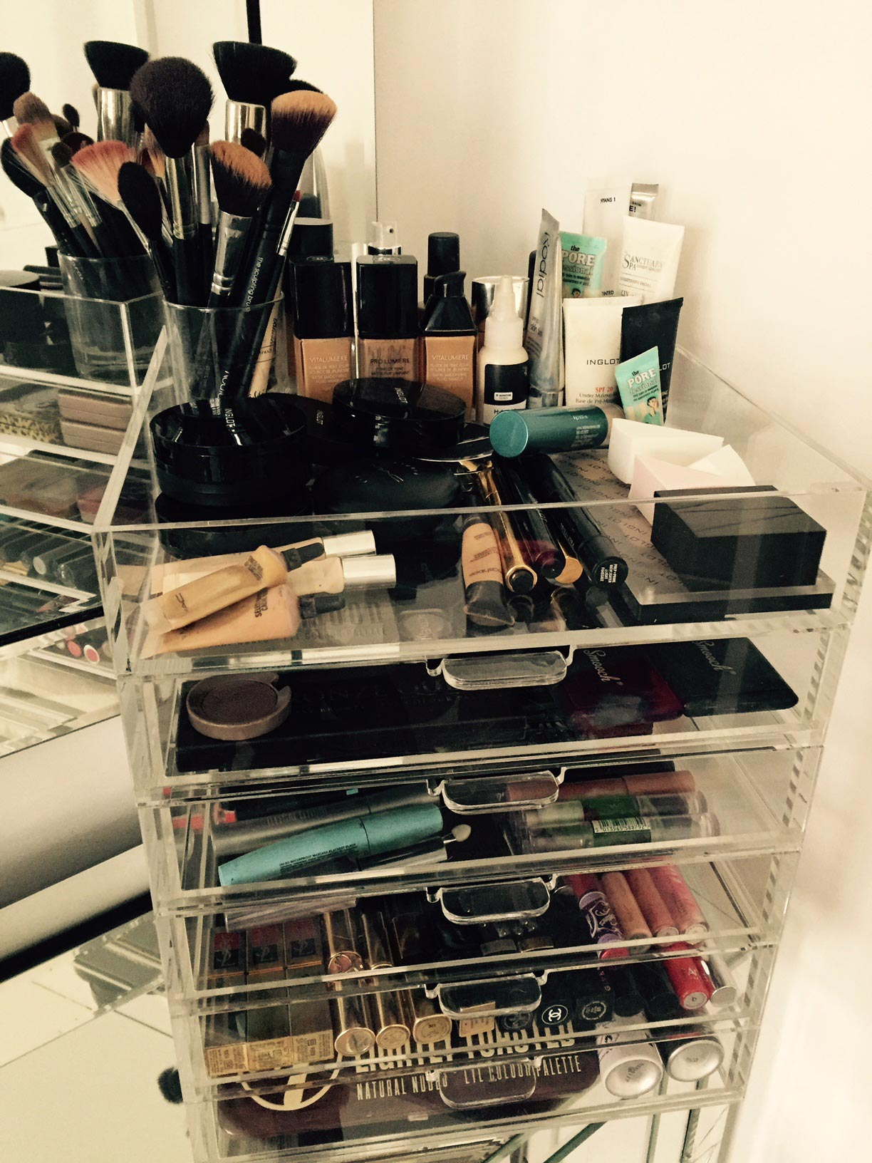 Luminati Acrylic Makeup Organiser | Ultimate Lifestylist