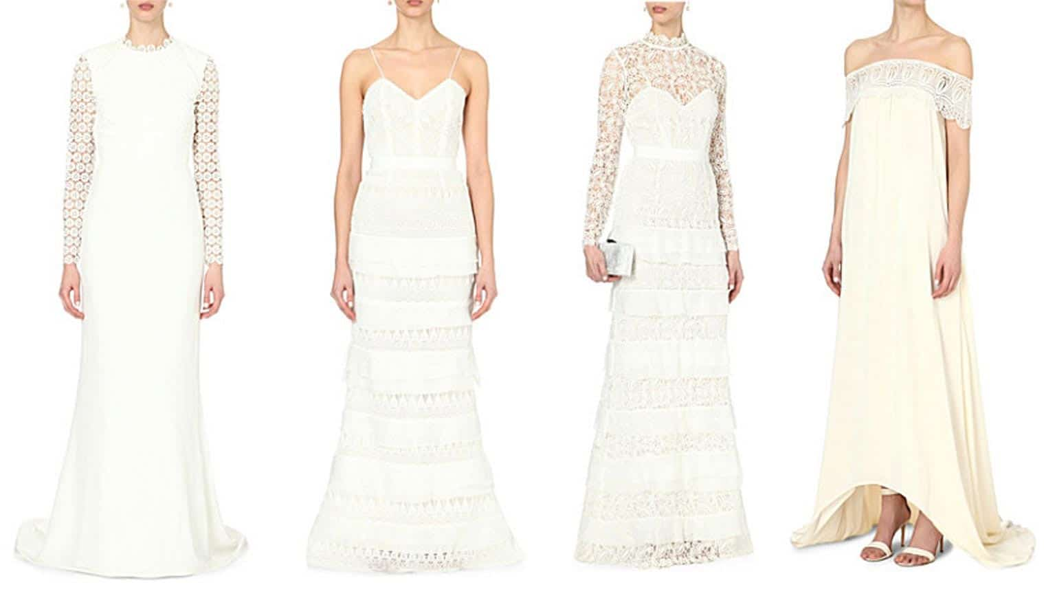 High Street Wedding Dresses   Ultimate Lifestylist