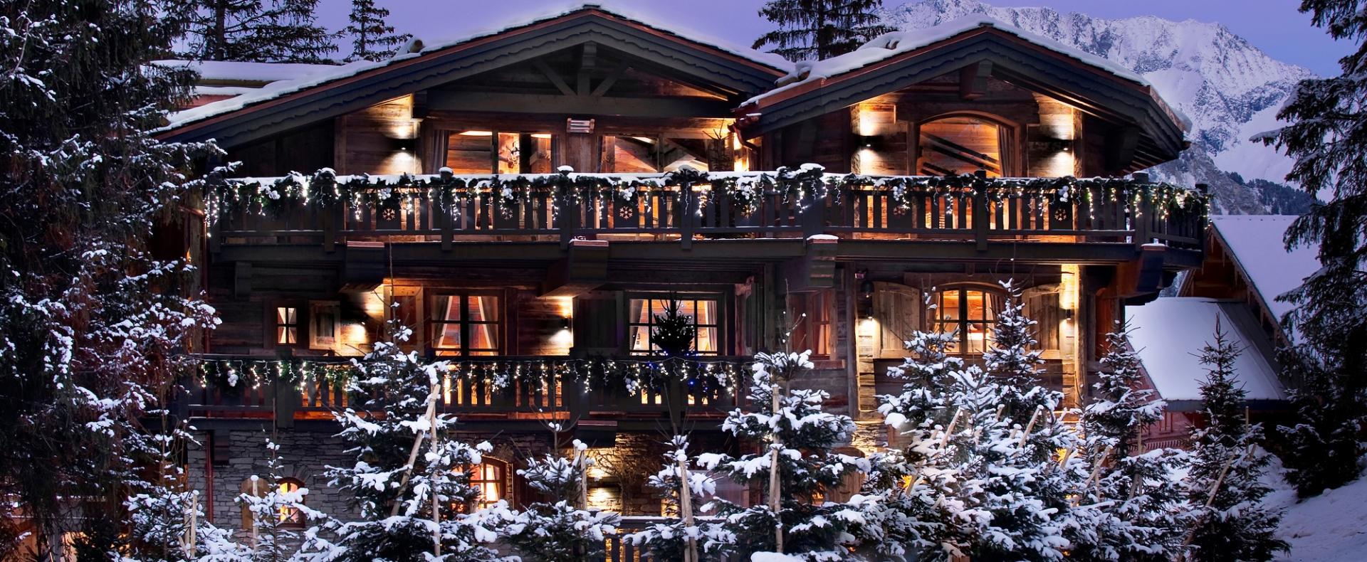 Chalet Le Petit Chateau Ski Courchevel 1850 France