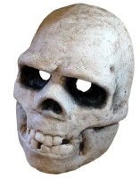 Paper Mache Neanderthal Skull Mask