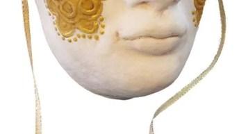 Paper Mache Volto Mask