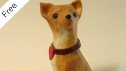 Paper Mache Chihuahua Pattern