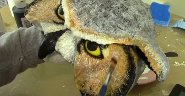 how to make an owl mask