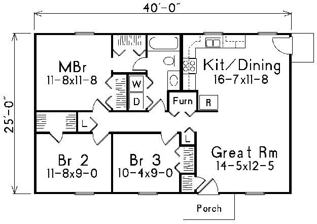 Main Floor Master House Plans