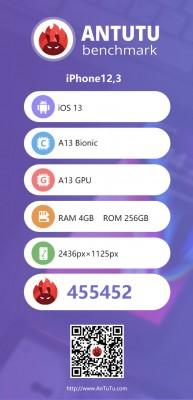 AnTuTu v8 scores: iPhone 11 Pro